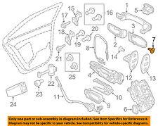 VW VOLKSWAGEN OEM 11-16 Jetta Front Door-Lock Screw WHT003688