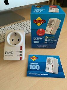 AVM Fritz!DECT Repeater 100 Drahtlose Router (20002598) NEUWERTIG