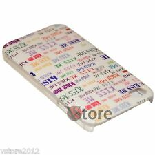 Cover Custodia Rigida Retro Per Apple iPhone 4/4G/4S Kiss Me + Pellicola Display