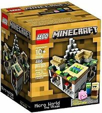 LEGO Minecraft Micro World – The Village (21105) NEW, Sealed!