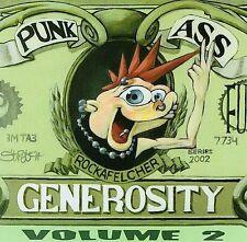 Punk Ass Generosity 2; 2002 CD, ADVANCE, Punk, Varukers, MU330, Breach, PROMO De
