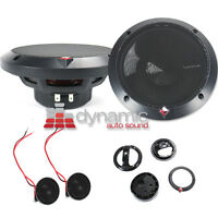 """Rockford Fosgate P1675-S Car Audio 6.5"""" Component Speakers 2-Way P1675S 240W New"""