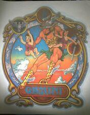 Vintage Iron On Tshirt Heat Transfer Decal Gemini Astrology Sign Horoscope 1976