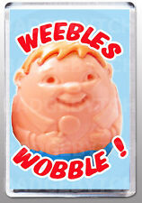 Weebles Wobble Large Fridge Magnet - Retro Classic
