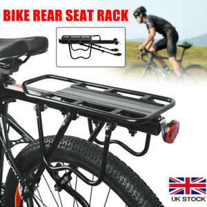 Aluminum Alloy Rear Bicycle Pannier Rack Carrier Bag Luggage Cycle Mountain Bike