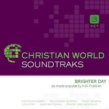 Kirk Franklin - Brighter Day -Accompaniment Cd Track New