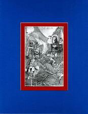 ALL-STAR BATMAN & ROBIN 6 SKETCH PRINT Professionally Matted Jim Lee art BATGIRL