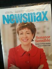 NEWSMAX MAGAZINE ISSUE SUSAN COLLINS INDEPENDENT CONSERVATIVE-FEBRUARY 2019-NEW