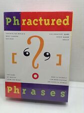 PHRACTURED PHRASES GAME 1992 UNIVERSITY GAMES Brand New Sealed