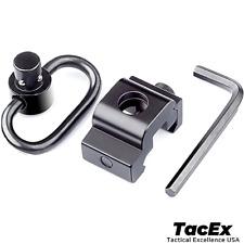 New Quick Release Detach QD Sling Swivel Attachment - 20mm Picatinny Rail Mount