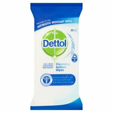 Dettol Cleansing Surface Wipes (Pack of 30 Large Wipes)
