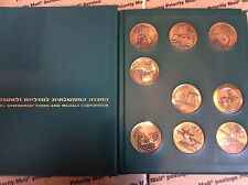 Israel Coin Medal IGCMC Set of Historical Cities 9 Silver (.935) and 9 Bronze
