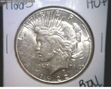 1922-S PEACE SILVER DOLLAR CHOICE AU