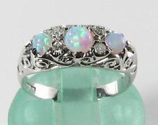 Engagement Band Round Not Enhanced Fine Gemstone Rings