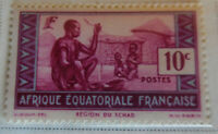 French Equatorial Africa 1937-40 Stamp 10c MNH Stamp StampBook1-60