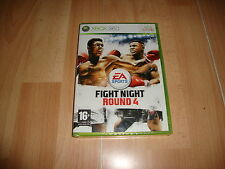Pal version Microsoft Xbox 360 Fight Night Round 4