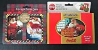 Coca Cola Limited Edition 1998 Nostalgia Playing Cards & Tin 4 Decks Total NEW