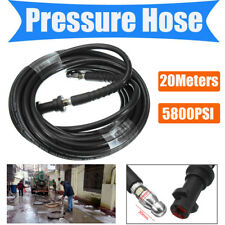 20m Drain Sewer Pipe Cleaning Hose Jet Nozzle For Karcher K2 K3 Pressure Washer