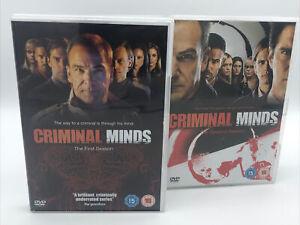 Criminal Minds DVD Box Sets Seasons 1 & 2 45 Episodes