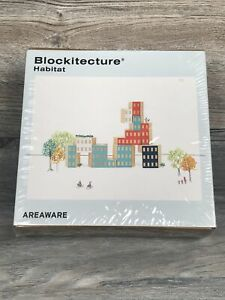NEW Blockitecture habitat building blocks Areaware Game Educational City