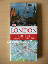 """DK Eyewitness Travel : London Pocket Map and Guide"" Book england uk holiday"