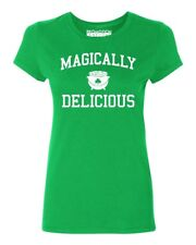Magically Delicious Women's T-shirt funny drinking St. Patrick's Day tee