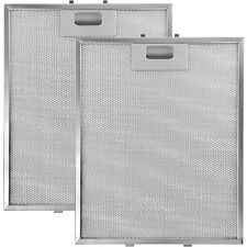 KITCHENAID Genuine Cooker Hood Vent Silver Extractor Grease Filters 305 x 265mm