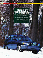 1997 Subaru Forester S Original Car Review Print Article J510