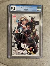 Avengers: The Children's Crusade #1 CGC 9.8 Partial Sketch Variant Kate Bishop