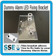 Dummy Alarm Siren LED Fixing Kit - Fit your own led(s) securely and easily