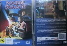 DOUBLE DRAGON RARE OOP DELETED DVD PAL MOVIE MARC DACASCOS & SCOTT WOLF