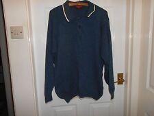Burton Wear Mans Jumper with collar, medium, 100% cotton