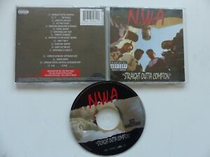 CD ALBUM  N.W.A. Staright outta compton  72435 37939 2 3