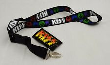 Collectable KISS Lanyard. Licensed Band Merchandise Music/Gig/Keys Gene Simmons