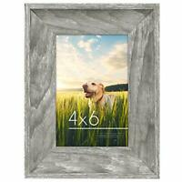 Americanflat Wood Picture Frame 4x6 5x7 8x10 Wall Tabletop Easel Pick Size Color
