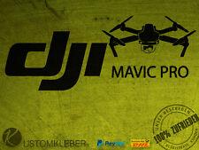 (No.3) DJI MAVIC PRO Sticker Aufkleber Decal Phantom INSPIRE