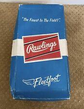 Old Vintage Empty Original 1950s Rawlings Baseball Shoe box