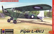 Kovozavody Prostejov 1/72 Model Kit 7243 Piper L-4H/J, RAAF & Indonesian