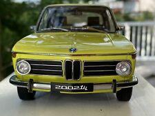 AUTOART 1:18 BMW 2002 tii #70508 By RACEFACE-MODELCARS
