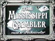 MISSISSIPPI GAMBLER, 1953, Tyrone Power Technicolor Western - DVD-R: Region 2  ^