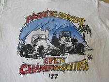 PACIFIC COAST OPEN CHAMPIONSHIPS 1977 ASCOT RACEWAY MIDGET 70S HOT ROD SHIRT