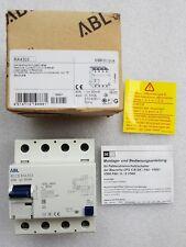 ABL Sursum FI-Schutzschalter RCD Allstromsensitiv Typ B 40A 30mA RA4303