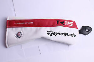 DRIVER TAYLORMADE 1 WOOD DRIVER HEAD COVER WHITE FREE DELIVERY