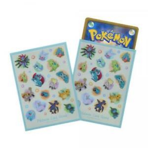 Taiki-Bansei - Japan Pokemon Center Card Deck Sleeves x64 - US Seller