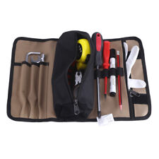 36x25cm Tool Bag Electrician Roll Up Hardware Tool Storage Waterproof Portable