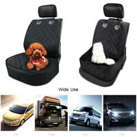 For Pet Dog Cat Car Front Seat Cover Waterproof Cushion Protector Mat Pad Black