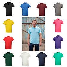 Cotton Blend Regular Collar Polo Casual Shirts for Men