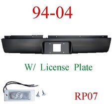RP07 94 04 Chevy S10 Roll Pan Rear, With License Plate Light