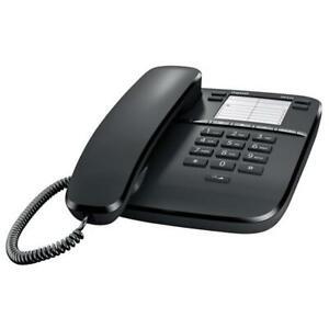 SIEMENS GIGASET DA310 BLACK TELEFONO A FILO