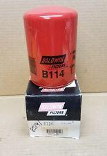 Baldwin Oil Filter B114, Spin-On, Full-Flow. Free Shipping
